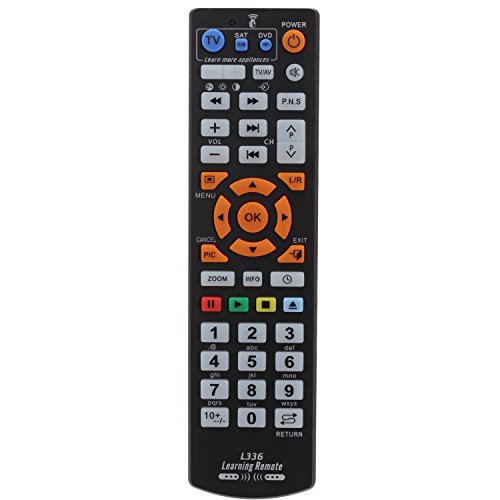 Negro - Mando Distancia Universal TV DVD Aprendizaje