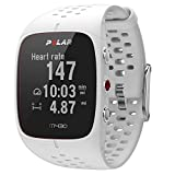 Polar Unisex Adults' M430 GPS Running Watch, White, Medium/Large