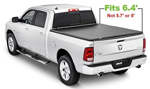 Tonno Pro 42-200TONNO Fold Black Tri-Fold Truck Persenning (Truck Tonneau Cover)