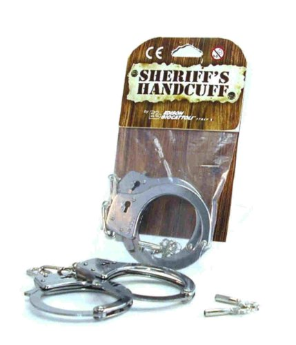 Edison - 103022 - Jeu de Tir - Menottes de Sheriff