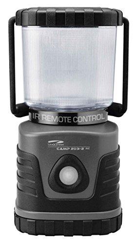 Litexpress Camp 203RC - Lanterna da campeggio con telecomando, 4 LED Nichia ad alta efficienza (High Performance Plastica)