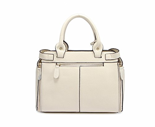 PACK Europa E Gli Stati Uniti Moda Donna Ladies Essential Ladies Borsa Borsa Portable Messenger,C:Black B:Beige