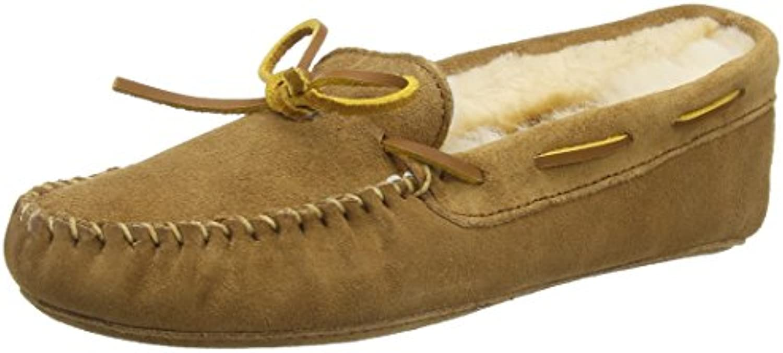 Donna   Uomo Minnetonka Sheepskin Softsole Moc, Pantofole Donna Donna Donna Grande svendita vero davvero   Discount    Scolaro/Ragazze Scarpa  4f02cc