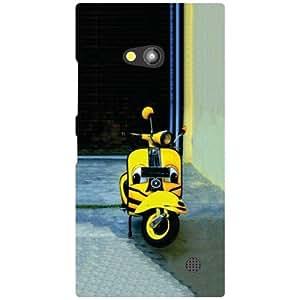 Nokia Lumia 730 Back Cover - Matte Finish Phone Cover