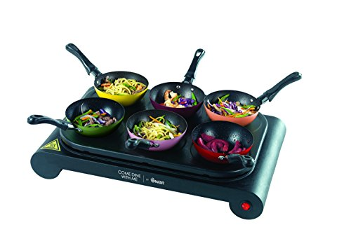 Swan Come Dine With Me Party Wok Raclette