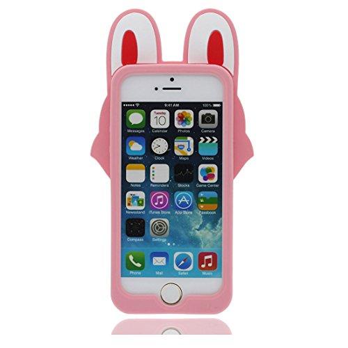 iPhone 5S Hülle, [ flexibles TPU materielles Popcorn ] Handyhülle für iPhone 5G 5 SE 5C, Staub-Beleg-Kratzer beständig, stilvoll haltbare weiche case rosa