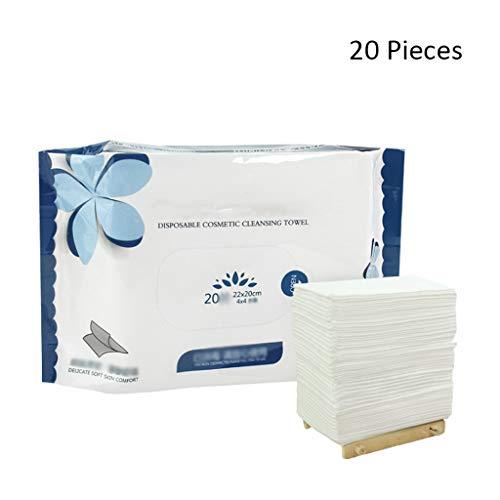 Serviette jetable pour Le Visage Voyage Lingettes nettoyantes Maquillage Tampons en Coton Gant de Toilette pour Le Visage Beauté Soins de la Peau Papier Serviettes comprimées