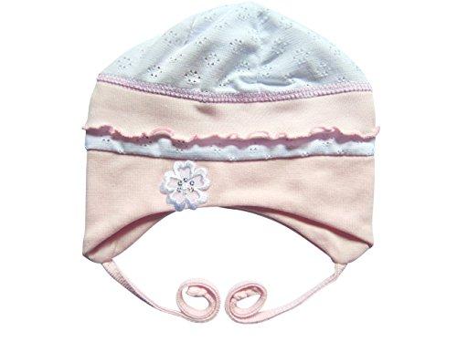 BY17 rosa Gr. 56/62, Babymütze für Neugeborene und Babies, in verschiedenen Größen