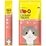 Me-O Creamy Treats (Pack Of 5) With Salmon For Cats And Kittens
