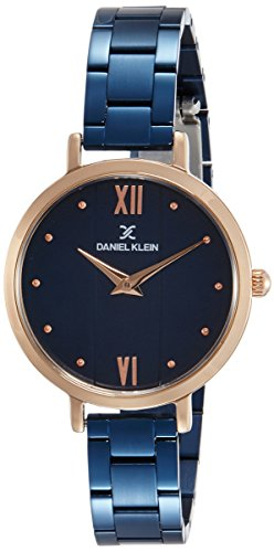 Daniel Klein Analog Blue Dial Women's Watch - DK11576-5