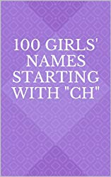 100 Girls' Names Starting with