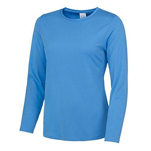AWDis - T-shirt de sport - Femme Bleu Saphir