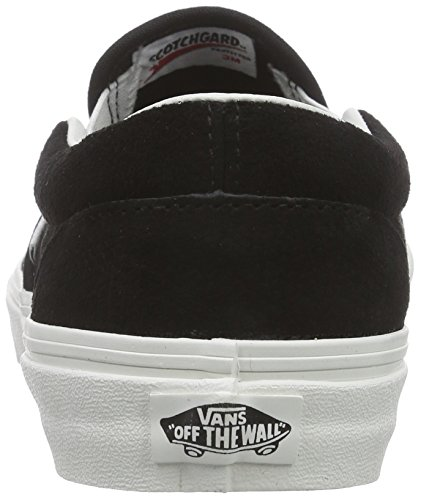 Vans Classic Slip-On, Baskets Basses Mixte Adulte Noir (Lizard Emboss/Black/Blanc de Blanc)