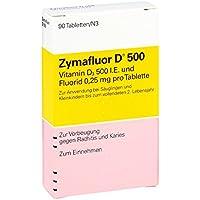Zymafluor D 500 Tabletten, 90 St. preisvergleich bei billige-tabletten.eu