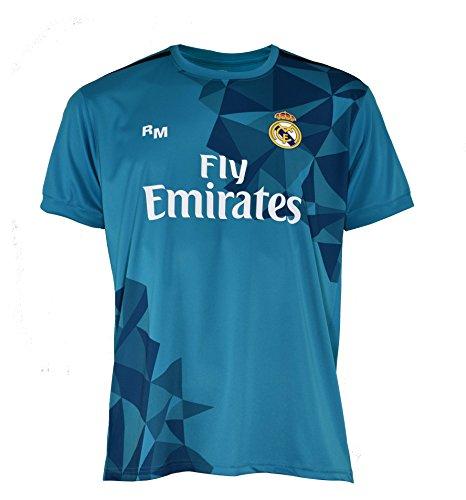 Real Madrid RMA-SA-3203, Camiseta Para Hombre, Azul, L