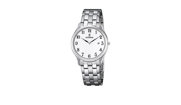 Quarz Analog Uhr F68401 Festina Herren Edelstahl Mit Armband ZPkuXOiT