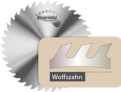 Preisvergleich Produktbild Bayerwald - CS Kreissägeblatt - Ø 650 mm x 3,2 mm x 35 mm | Wolfszahn (56 Zähne) | grobe, schnelle Zuschnitte - Brennholz & Holzwerkstoffe / Längs- & Querschnitt