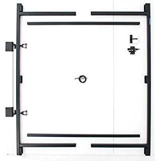 Fence Walk Through Gate Kit - Adjust-A-Gate Steel Frame No Sag Gate Building Kit - This anti-sag gate kit is perfect for repairing existing sagging gates or building new ones. (60-96 wide openings up to 6' high fence) by Adjust-A-Gate