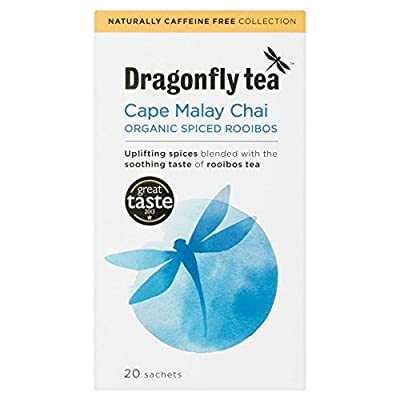 Dragonfly Organic Tea Cape Malay Rooibos Chai (20) - Paquet de 6