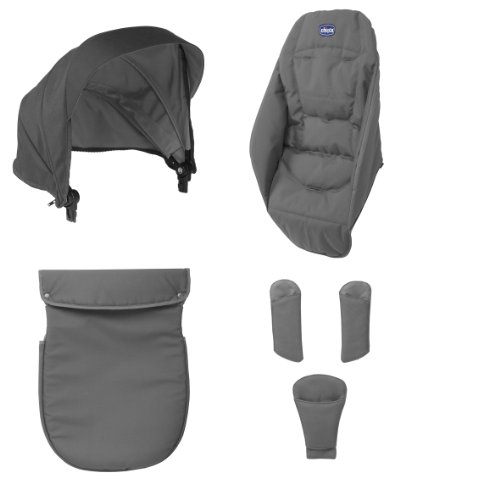 Chicco Pack Coloris Urban Anthracite