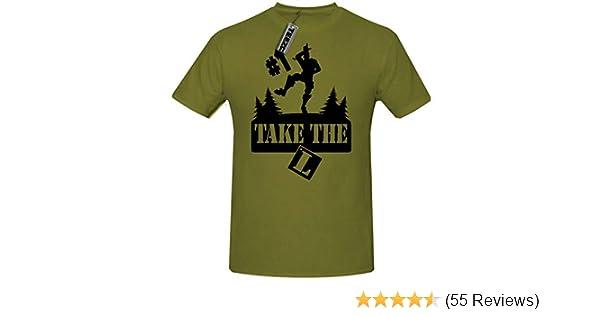 bed957caa9e272 TEEZ - Take The L t Shirt, Children's Gaming t Shirt, Gaming Dance t Shirt.(5-6  Years (28