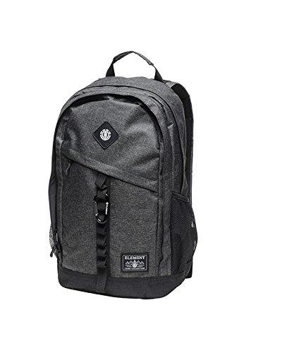 Element Cypress Rucksack, Schulrucksack & Alltagsrucksack mit gepolstertem Rücken (One Size, Black...