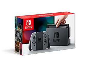 Switch with Gray Joy-Con