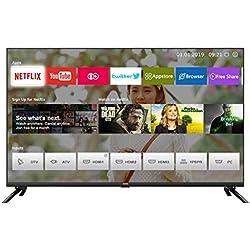 Smart TV 43''LED, CHiQ U43H7L,UHD, 4k, HDR10, WiFi,Bluetooth, Vidéo Youtube, Netflix 5,1.