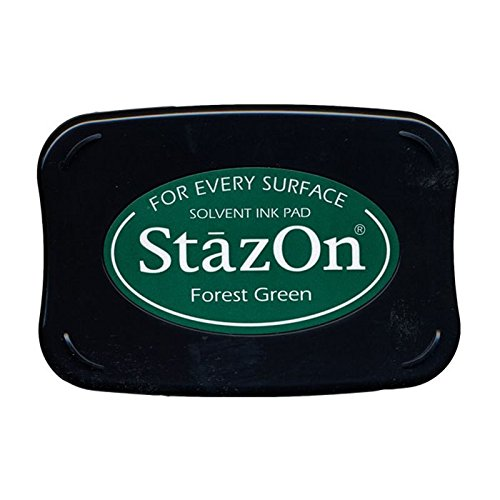 StazOn Color Ink Pad Color: Forest Green by Tsukineko - Stazon Stempelkissen