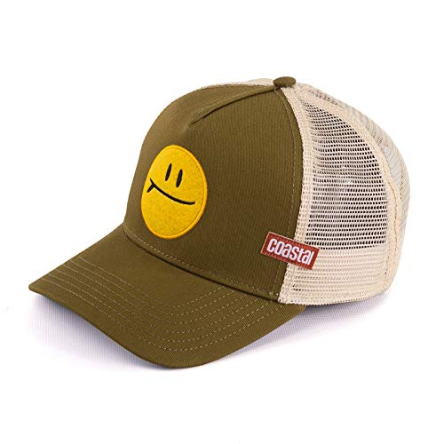 COASTAL - Surf & Smile (olive) - Trucker Cap