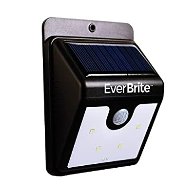 JML Ever Brite LED Solar Powered Motion Activated Indoor / Outdoor Security Night Lamp Light - cheap UK light store.