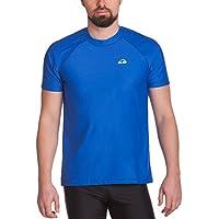 iQ UV 300 Loose Fi - Camiseta con manga corta de protección UV para hombre, color Azul, talla XXXL