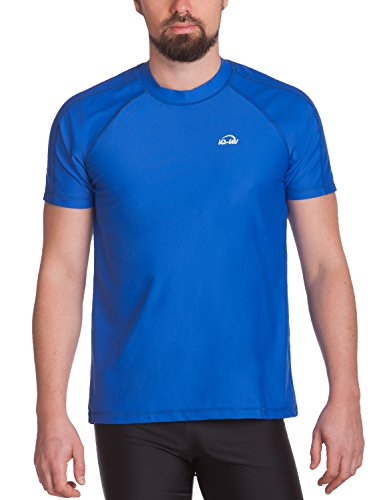 iQ-Company Herren UV-Schutz T-Shirt IQ 300 Watersport dark-blue L (52)