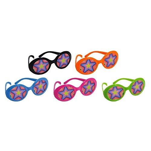 Amscan 70s - Gafas con lentes impresas
