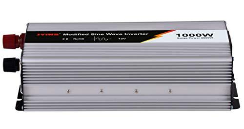 JTIH® 12V / 24V bis 110V / 220V modifizierte Sinuswellen-C-Typ-Leistung 1000W Solar-Solarwechselrichter (220v-c-typ-konverter)