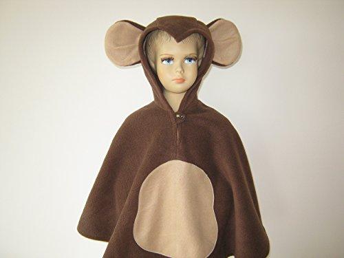 fasching karneval halloween kostüm cape für kleinkinder (Affe Kleinkind Kostüme)