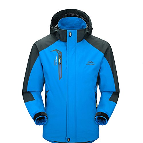 Waterproof Jacket Mens Raincoat Sportswear-GIVBRO 2018 New Design Outdoor Hooded Softshell Running Jackets