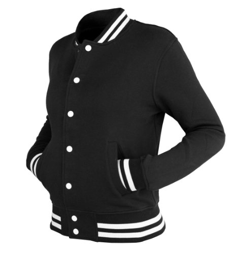 Urban Classics Dames College Sweatjacket TB216 Rouge