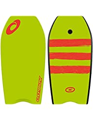 Osprey Kids', Xpe Stripe Bodyboard Boogie Board with Leash, 37 Inch