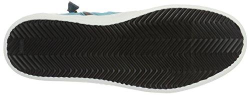 Mjus Ladies 764205-0101 High-top Multicolore (surf Bianco Cielo)