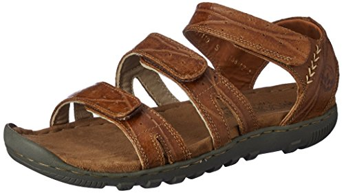Woodland Men's Camel Leather Sandals and Floaters  - 8 UK/India (42 EU)  available at amazon for Rs.1977