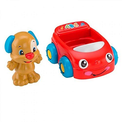 Mattel - Fisher-Price - BJR01 - Lernspaß - Hündchens Lernspaß Auto - mit dem ABC Lied und vieles mehr
