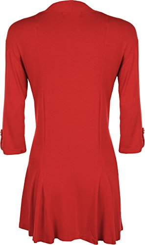 WearAll - Top - Donna Rosso