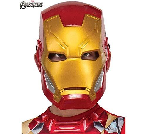 Mascara Iron Man Avengers, Multicolor, (Rubie'S 300148)