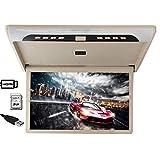 19 inch Car Flip Down Monitor HDMI 1080P HD TFT LCD Roof Mount