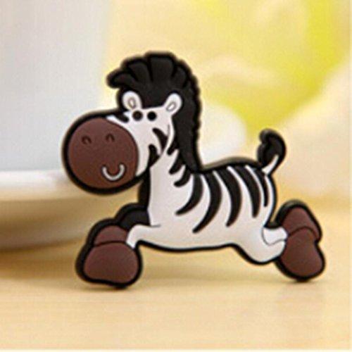Nett Cartoon Kühlschrank Tafel Magnetisch Aufkleber Baby Kind Früherziehung Spielzeug Zebra (Schreibtisch Kühlschrank Größe)