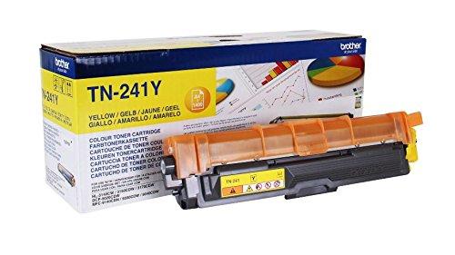 Preisvergleich Produktbild Brother Original Tonerkassette TN-241Y gelb (für Brother HL-3140CW, HL-3170CDW, HL-3150CDW, DCP-9020CDW, MFC-9140CDN, MFC-9330CDW, MFC-9340CDW)