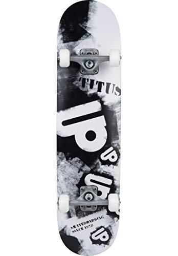 TITUS Skateboards-Complete Spraystencil, Black, 8