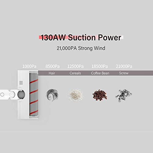 3 a/ños de Garantia Dreame V9 Pro Aspiradora Vertical 20000PA Succi/ón Eficiente Sin Cable Aspira 2500mah Bater/ía Escobas el/éctricas