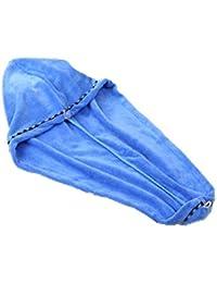 Ogquaton Secador de Pelo Toalla de Microfibra Gorro de Secado rápido para el Cabello Toalla súper